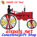 """26845 Old Tractor Red 23"""" : Tractor Spinners (26845)"""
