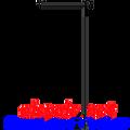 23956  Garden Flag Pole (23956)