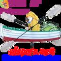 """21821  Fisherman 24"""" , Whirligig (21821)"""