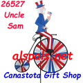 26527  Uncle Sam  Bicycles & High Wheel Bicycles Spinners (26527)