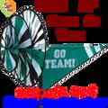 22154  Green 'GO TEAM' : Go Team Triple Spinners (22154)
