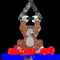 """Monkey (Mischevious) 15"""": Garden Swingers (59002)"""