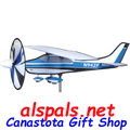 """Civilian Aircraft 22"""" : Airplane Spinners (26309)"""