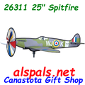 "26311 Spitfire 25"" : Airplane Spinners (26311)"