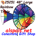 25251 Rainbow : Large Triple Spinner (25251)