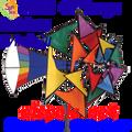 25241  Rainbow : Large Windmills (25241)
