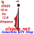 25525   Emperor Tecmo Feather Banners (25525)