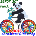 "26707  Panda 30""   Bicycle Spinners (26707)"