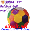 "99524  27"" Rainbow Ball only (99524)"