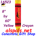 16523  Crayon ( Yellow ) : Fun Flyer (16523)
