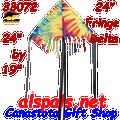 """33072  Delta 24 Fringe """"Tie Dye """" : Fun Flyer (33072)"""