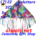"17122  Delta Fringe ""Splatters "" : Fun Flyer (17122)"