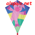 "Piggy Piglet:  Diamond 25"" Kites by Premier"