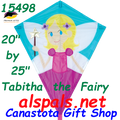 "15498  Tabitha the Fairy: Diamond 25"" Kites by Premier (15498)"