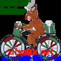 """26703 Reindeer 30"""" : Bicycle Spinners (26703)"""
