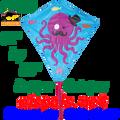 "15254   Dapper Octopus: Diamond 30"" Kites by Premier (15254)"