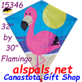"15436  Flamingo: Diamond 30"" Kites by Premier (15346)"