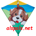 "Dog ( Playful Pup ): 30"" Diamonds (15401) Kite"