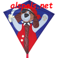 "Pirate ( Brave-Muttly) : 30"" Diamonds (15323) Kite"
