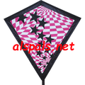 "Op-Art ( Starry ) : 30"" Diamonds (15344) Kite"