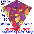 "15306  Orbit Warm: Diamond 30"" Kites by Premier (15306)"