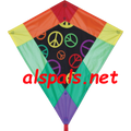 "Peace : 30"" Diamonds (15343) Kite"