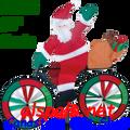 """25996 Santa 30"""" : Bicycle Spinners (25996)"""