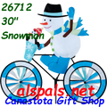 "26712  Snowman 30"" : Bicycle Spinners (26712)"