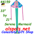 44159  Serena the Mermaid: Easy Flyer Kites by Premier (44159)