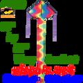 44239 Wavy Gradient: Easy Flyer Kites by Premier (44239)