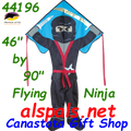 44196  Ninja ( Flying ): Large Easy Flyer Kites by Premier (44196)