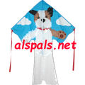 Terrier ( Tucker ) : Large Easy Flyer (44184) Kite