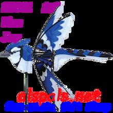 "25001  Blue Jay (Eastern) 25""    Bird Spinners (25001)"