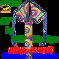 44277  Tie Dye: Jumbo Easy Flyer by Premier (44277)