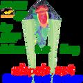 "33035  Frog (Poison Dart ): Delta Flo-Tail 45"" Kites by Premier (33035)"