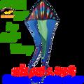 "33122  Wavy Gradient Bullets: Delta Flo-Tail 56"" Kites by Premier (33122)"