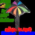 33061  Rainbow: Delta Sky Kites by Premier (33061)