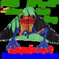 "33189  Frog ( Poison Dart ): Delta 56""  Kites by Premier"