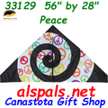 "33129  Peace: Delta 56""  Kites by Premier (33129)"