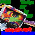 12044  Tie Dye : Parafoils 7.5 (12044) kite