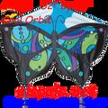 44941  Orbit ( Cool ): Butterfly Kites by Premier (44941)