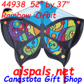 44938   Orbit ( Rainbow ): Butterfly Kites by Premier (44938)