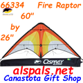 66334  Fire Raptor: Osprey Sport Kites by Premier (66334)