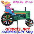 "25936 Pig on a Tractor 39"": Tractor Spinners (25936)"