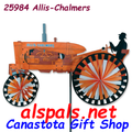 "Allis-Chalmers Tractor 43"" : Tractor Wind Spinners"