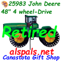 Sorry!!!  This 4 wheel tractor spinner has been discontinued. Order our New Generation or Vintage John Deere tractor.