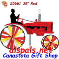 """25661 Old Tractor Red 29"""" : Tractor Spinners (25661)"""