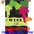 Wine A Bit : Double-sided Applique (57011)