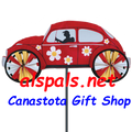 """22"""" Red VW Hippie Mobile: Vehicle Spinners (26846)"""