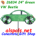 "26834  24"" Green VW Beetle: Vehicle Spinners (26834)"